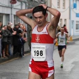 An image from the 2007 Fields of Athenry 10k.