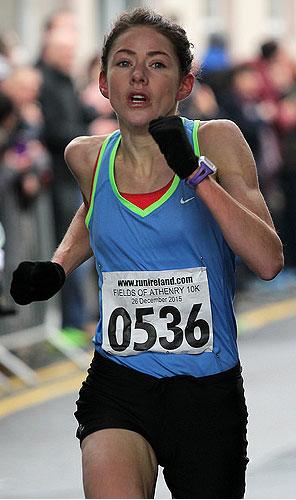 Marie Hyland - 2015 Women's Winner